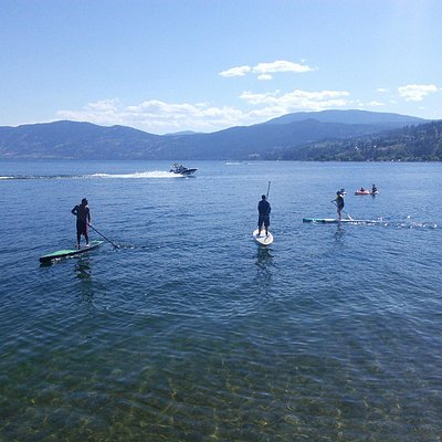 Paddle Boarding in Peachland