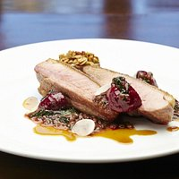 The Aylesbury duck breast is to diet for!