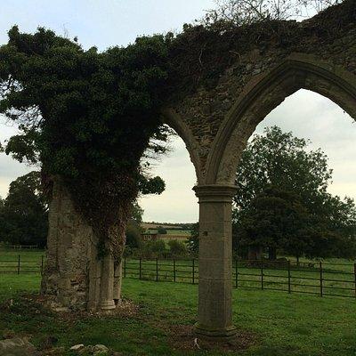 lovely church ruin