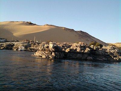 tierras de Nubia a orillas del Nilo