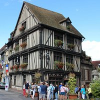Maison du Temps Jadis (House of Past Times), Vernon, France, August 2014