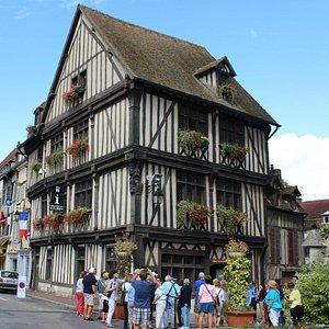 Maison du Temps Jadis (House of Past Times), Vernon, France, August 2014