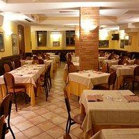 La sala ristorante interna