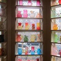 Decorative and functional Victorian-era glassware