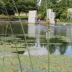 Vietnam Veterans Memorial in Green Hill Park