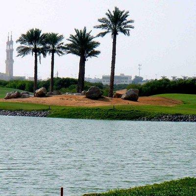 Abschlag über Wasser, Tower Links