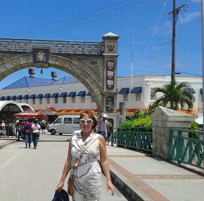 Marco de Bridgetowm em Barbados, Chamberlain Bridge.
