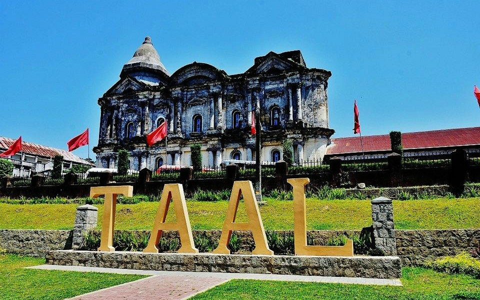no mistaking the basilica is in Taal