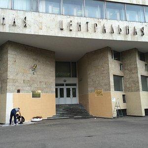Фасад обновили перед 1 сентября