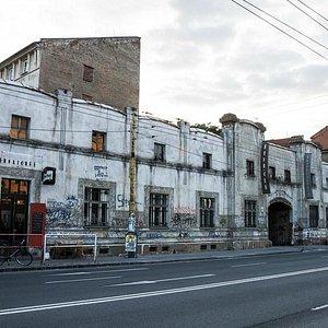 Exterior of Tabacka Kulturfabrik