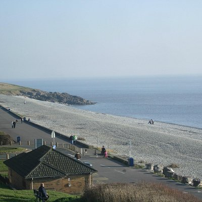 The Pebbly Beach and Promenade