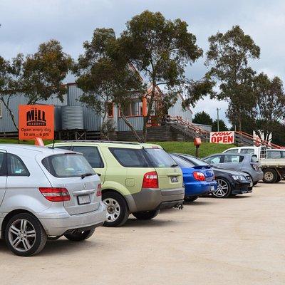 Outside The Amazing Mill Markets - Ballarat