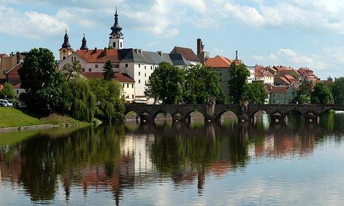 Писек. Старый мост