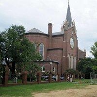 Rear view, St. Peter's Catholic Church, Columbia, SC, September 2014