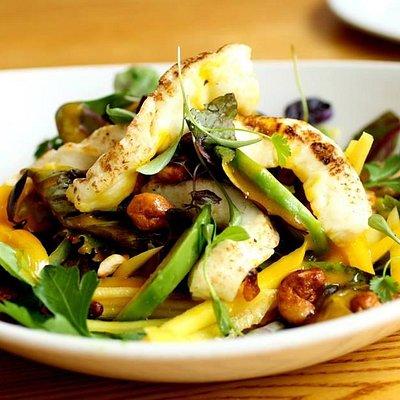 halumi salad fantastic amazing