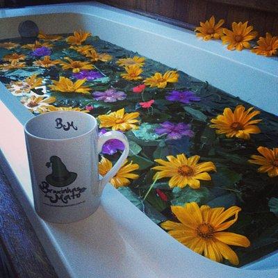 lindo banho nas Bruxinhas!!