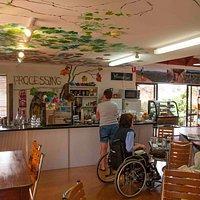 inside cafe/centre