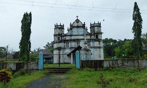 old building,Divar Island