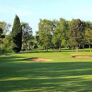 2nd Hole Green at Druids Heath Golf Club, Aldridge