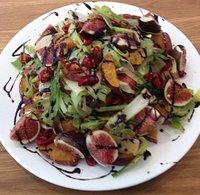 Sweet potato and figs salad