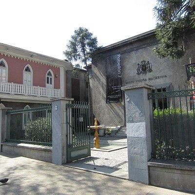 Museo Nacional Benjamin Vicuna Mackenna - Santiago - Exterior