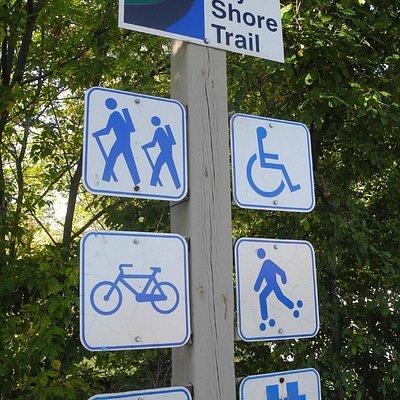 Tay Shore signage