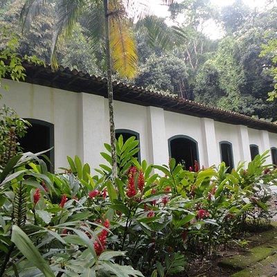 Casa dos Pilões  no Jardim Botânico