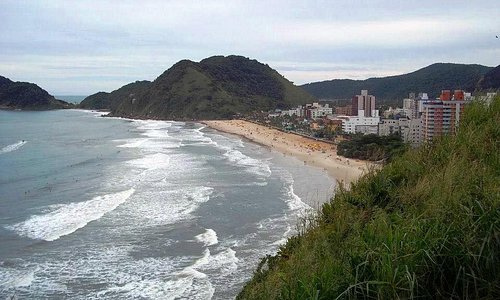 Foto Praia do Tombo - Vista do Mirante do Morro da Caixa D'água