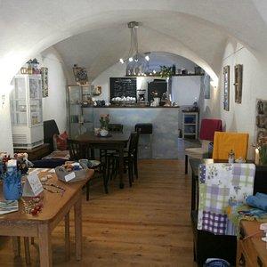 Der bunte Laden, Atelier und Café Andrea Ernst