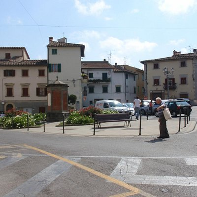 The old center of the village