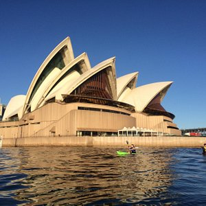 Paddle to the opera house