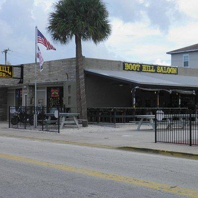 The Boot Hill Saloon on Main Street