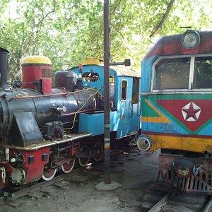 Детские локомотивы