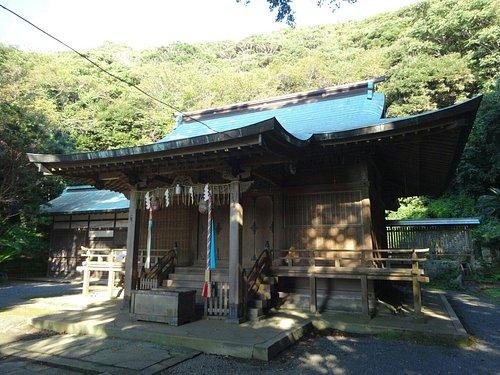 洲崎神社の拝殿です。