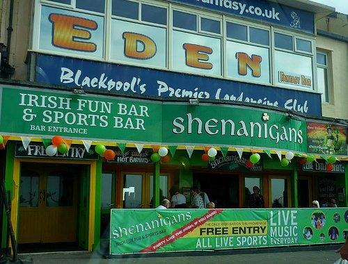 Shenanigans Bar, Blackpool