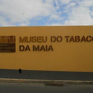 L'insegna esterna del museo