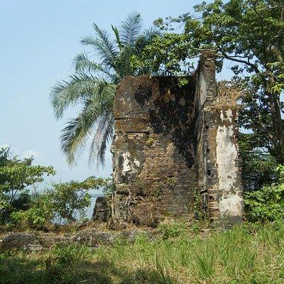 Old slave trading post