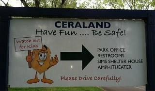 Ceraland Sign