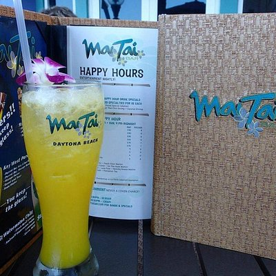 Mai Tai Bar at Ocean Walk Shoppes Daytona Beach