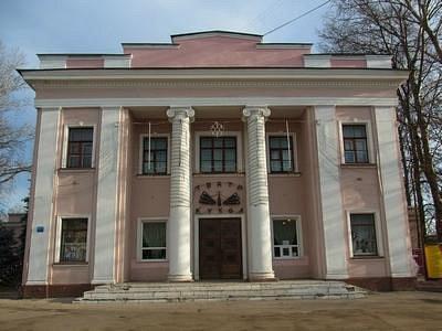 Театр перед закрытием на реконструкцию.