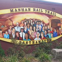 Manhan Rail Trail mural
