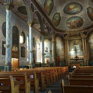 St. Francis Xavier interior