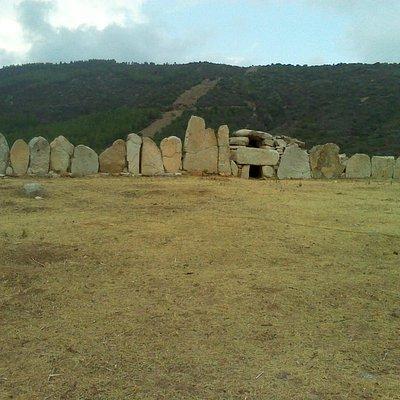 """Tomba dei giganti di Osono, detta anche """"S'Iscorgeddu (il piccolo tesoro)"""", scattata il 21.08.20"""