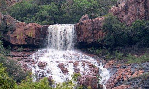 The waterfall at Sigurwana