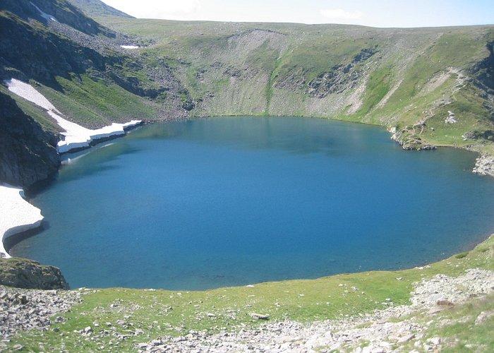 The Seven Rila Lakes: Okoto Lake [The Eye] 2,440 m