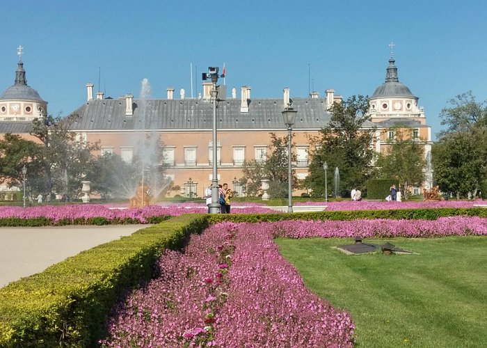Palacio Real desde jardines del parterre