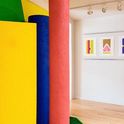 PVAC Palos Verdes Art Center - Betty Gold exhibition