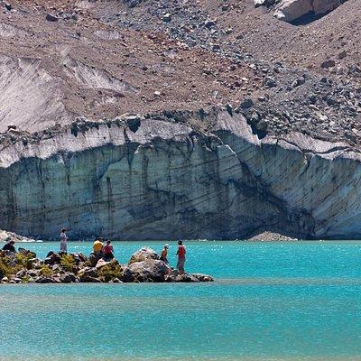 Laguna del Antiguo. Glaciar Torrecillas - Parque Nacional Los Alerces