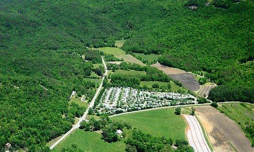 Georgia RV Park aerial view 4
