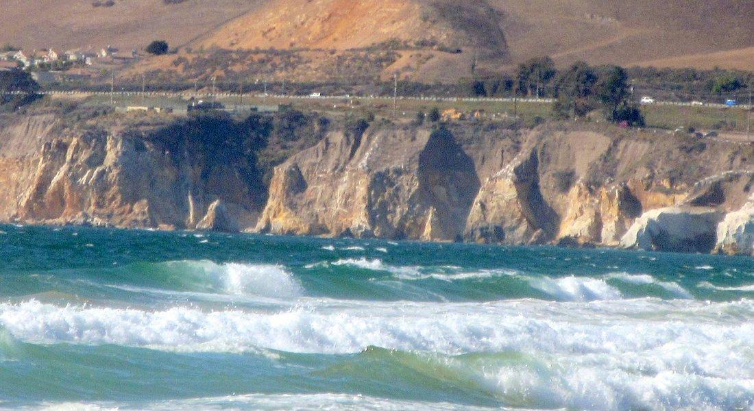 View from Oceano Dunes SVRA, Oceano, CA
